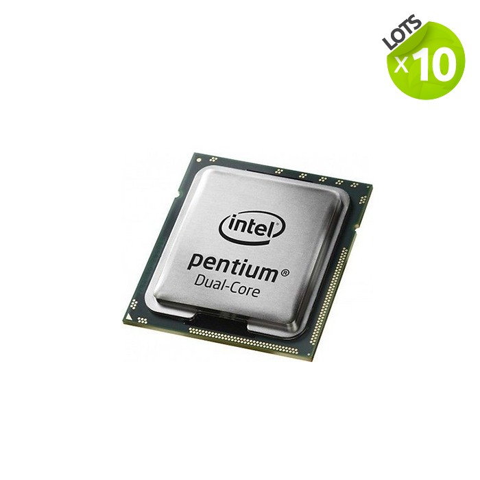 Lot de 10 Processeurs - Intel Pentium G630
