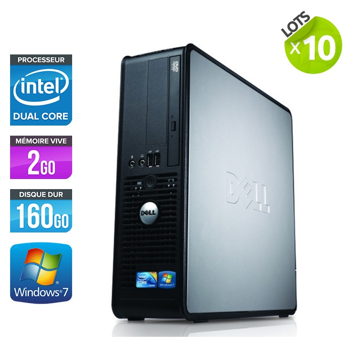 Lot de 10 Dell Optiplex 380 SFF