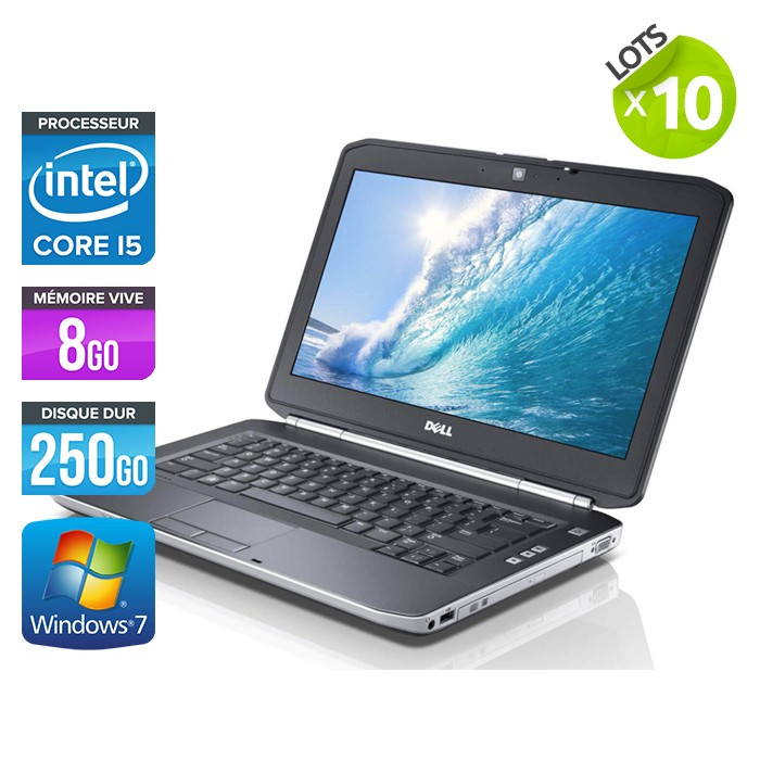 Lot de 10 Dell Latitude E5420