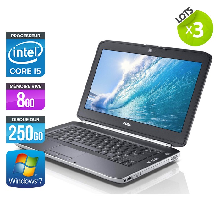 Lot de 3 Dell Latitude E5420