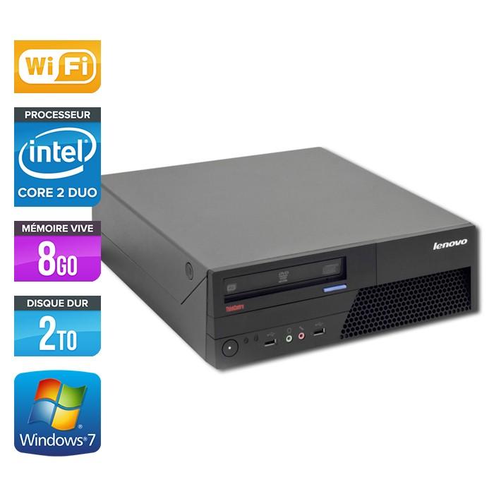 Lenovo Thinkcentre M58P - E8400 - 8Go - 2To - Wifi