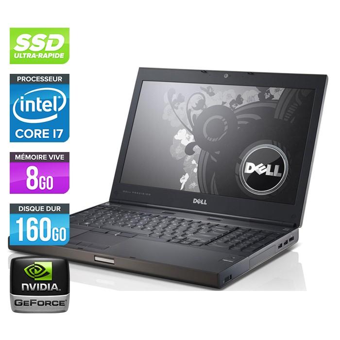 Dell Precision M6600 - Core i7 - 8Go - 160Go SSD / 250Go HDD - Nvidia Quadro 3000M