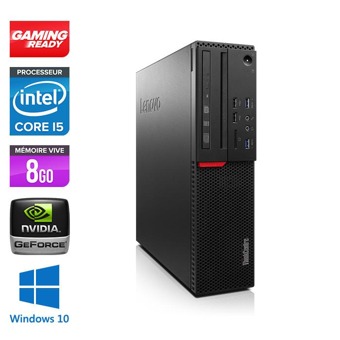 Lenovo ThinkCentre M800 SFF - i5 - 8Go - 500Go HDD - GT1030 - Windows 10