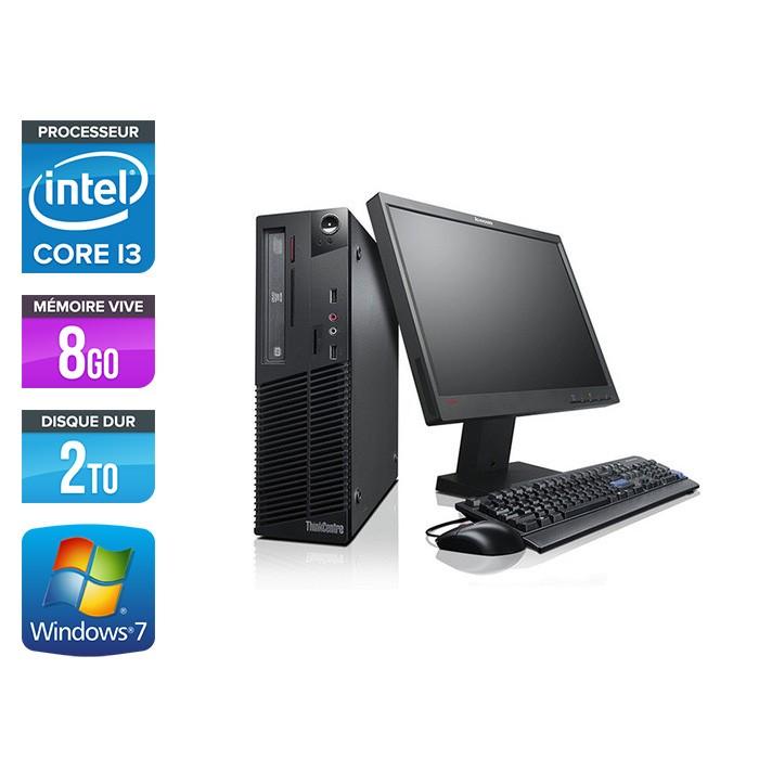 "Lenovo ThinkCentre M81 SFF + Ecran TFT 17"""