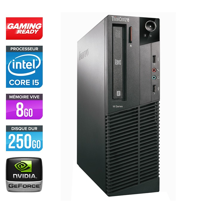 Lenovo ThinkCentre M81 SFF - Gaming ready