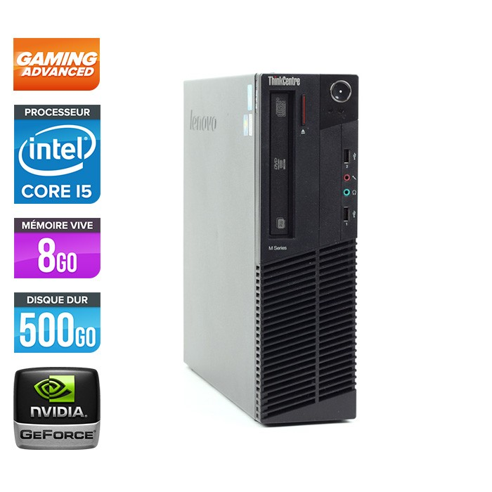 Lenovo ThinkCentre M91P SFF - Pc gamer