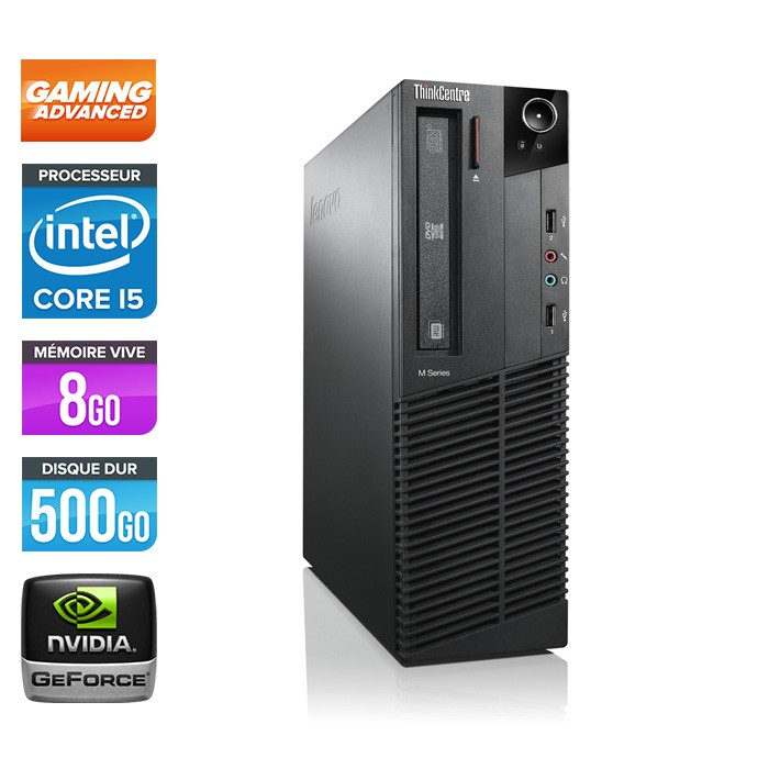 Lenovo ThinkCentre M92P SFF - Pc gamer