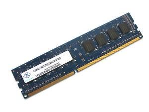 Nanya - DIMM - 2 Go - NT2GC64B88B0NF - DDR3 - PC3-10600U
