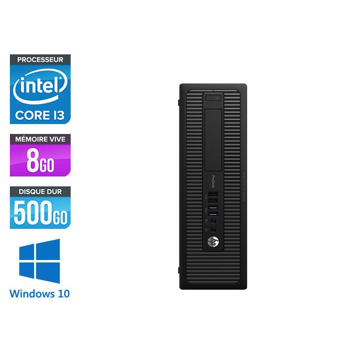 HP 600 G1 SFF - i3 - 8Go - 500 HDD - W10