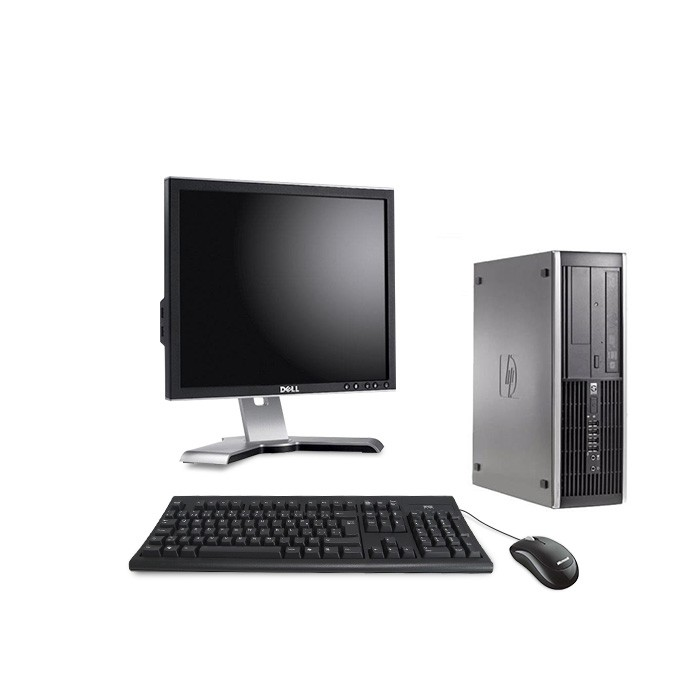 HP Elite 8100 SFF + Ecran 17""