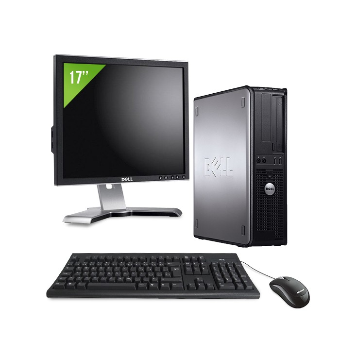 "Dell Optiplex 755 - E2160 - 2Go - 80Go + Ecran 17"""