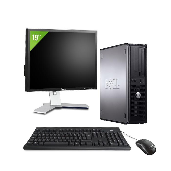 "Dell Optiplex 755 - E2160 - 2Go - 80Go + Ecran 19"""