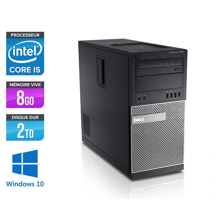 Dell Optiplex 790 Tour - Core i7 - 8Go - 2To HDD - Windows 10