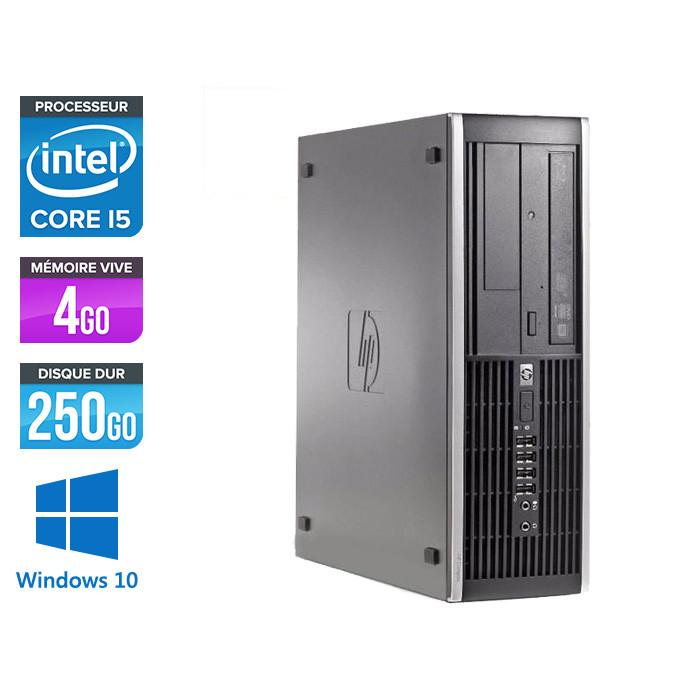 Pc de bureau reconditionné - HP 6200 PRO SFF - Core i5 - 4Go - 250Go HDD - Windows 10