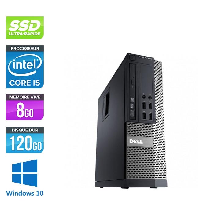Pc de bureau reconditionné - Dell Optiplex 990 SFF - i5 - 8Go - SSD 120 Go - Windows 10