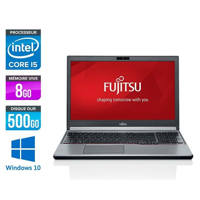 Fujitsu LifeBook E756 - i5-6300U - 8Go - 500Go HDD - WINDOWS 10