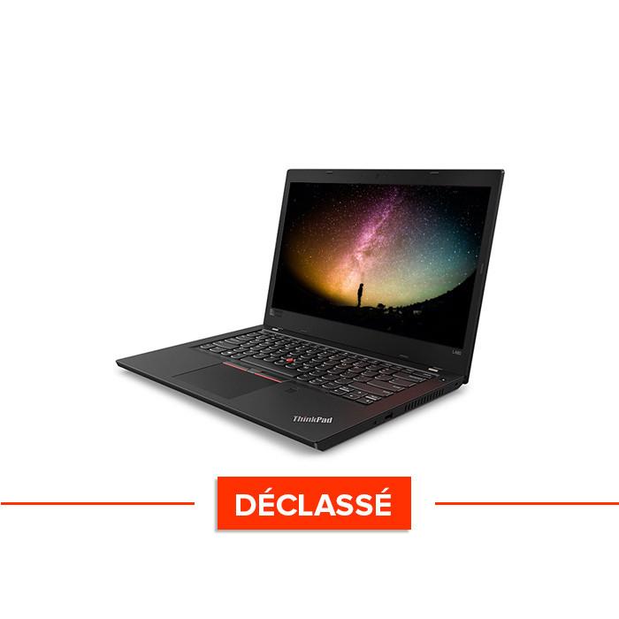 Pc portable reconditionné - Lenovo ThinkPad L480 - Déclassé