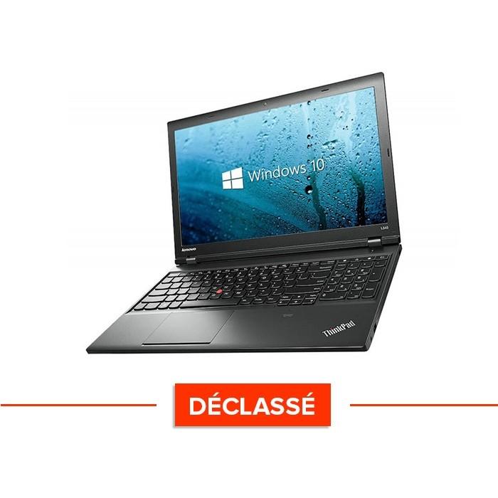 Ordinateur portable - Lenovo ThinkPad L540 - Trade Discount - Déclassé - i5 - 8Go - 500Go HDD - sans webcam - Windows 10