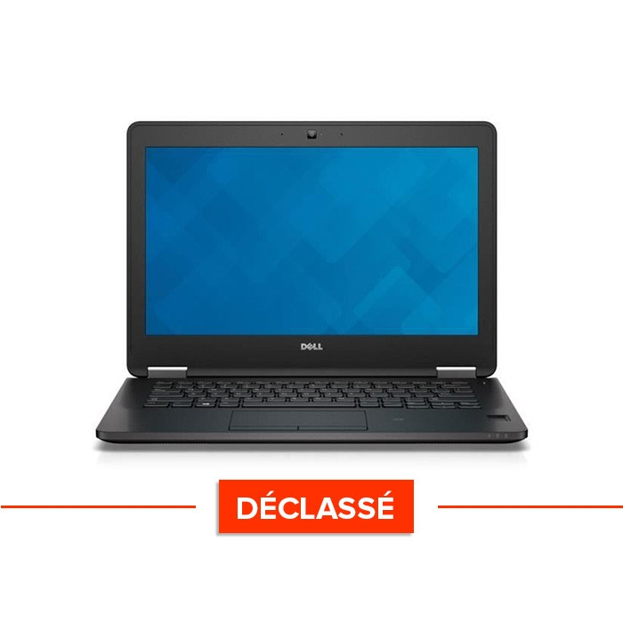 Ordinateur portable reconditionné - Dell Latitude E7270 - i5 - 8Go - 240Go SSD - Windows 10 - Déclassé