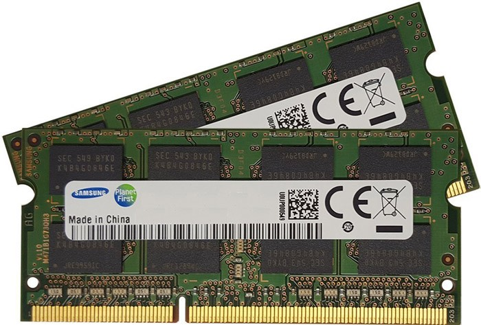 Lot 2 X 1 Go - DDR3 - PC3-8500S