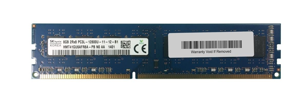 Mémoire SKhynix DIMM DDR3 PC3-12800u - 8 Go 1600 MHz
