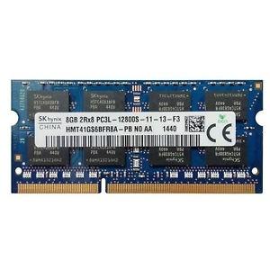 Mémoire portable SKhynix SO-DIMM DDR3 PC3L-12800s - 8 Go 1600 MHz