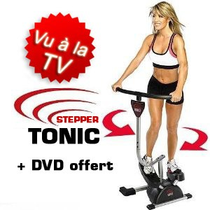 Stepper Tonic + DVD Offert - VU A LA TV
