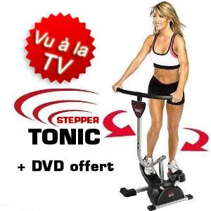 Stepper Tonic + DVD Offert - VU A LA TV