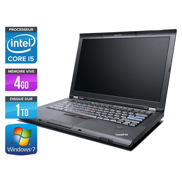Lenovo ThinkPad T410 - Core i5 - 4Go - 1To
