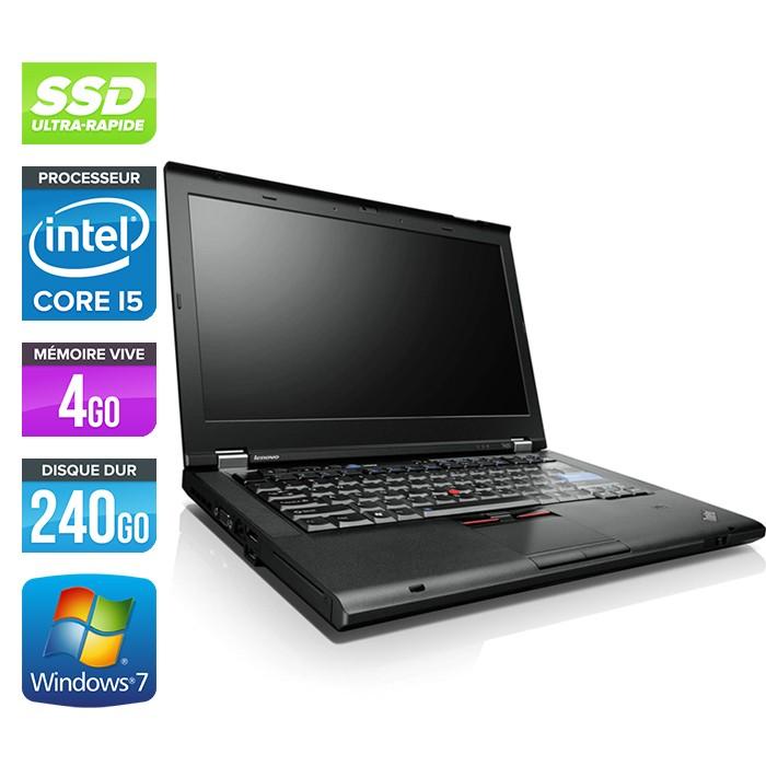 Lenovo ThinkPad T420 - Core i5 - 4Go - 240Go SSD