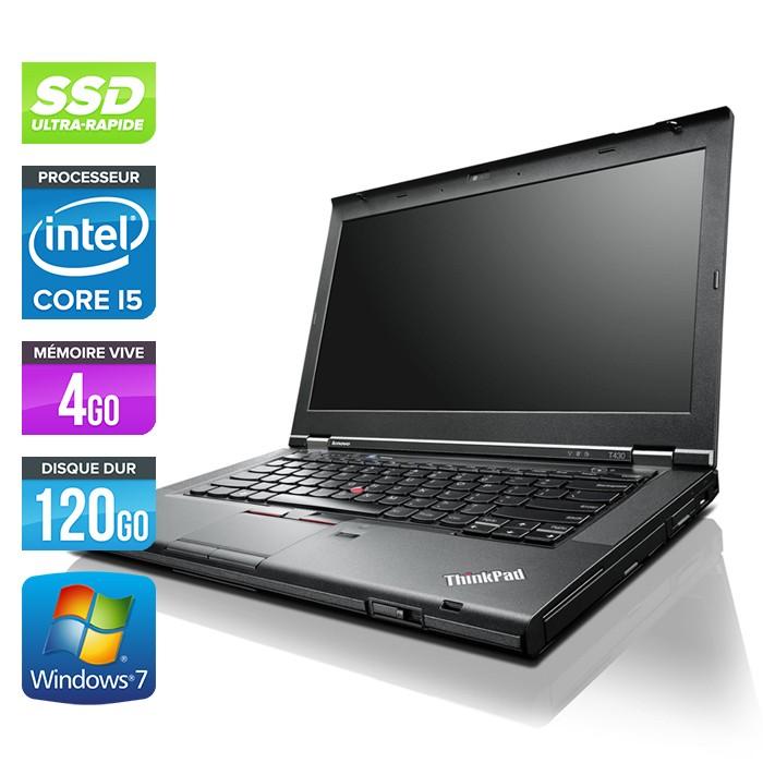 Lenovo ThinkPad T430 - Core i5 - 4Go - 120Go SSD