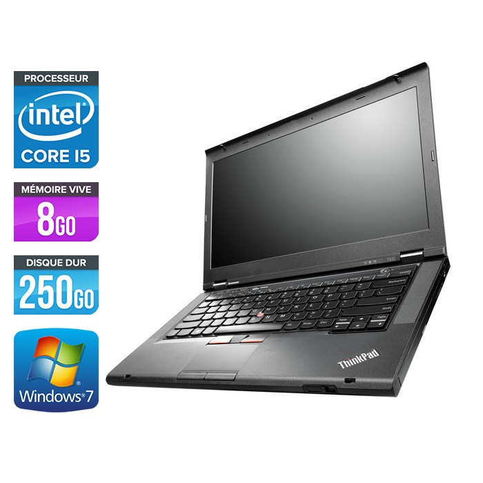 Lenovo ThinkPad T430 - Core i5 - 8Go - 250Go