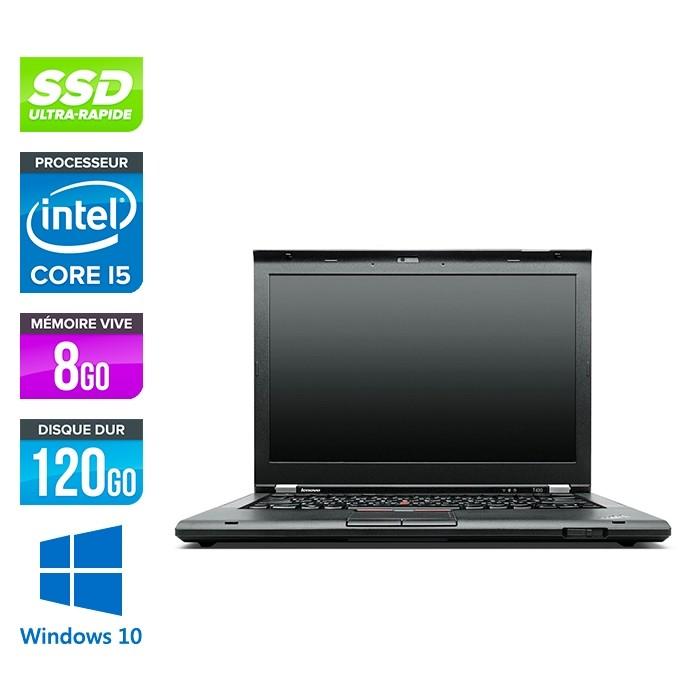 Lenovo ThinkPad T430S - i5 - 8Go - 120Go SSD - windows 10