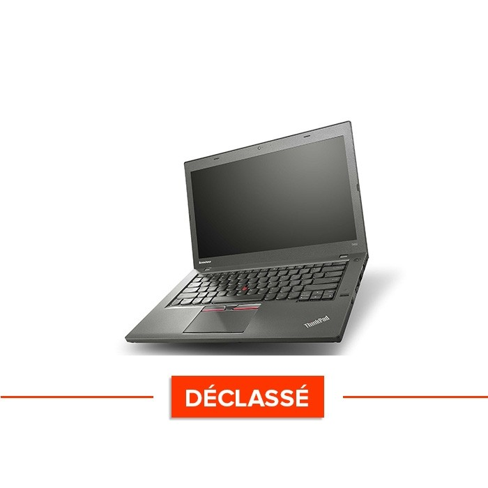 Lenovo ThinkPad T450 - i5 5300U - 8Go - SSD 120Go - Windows 10 declasse