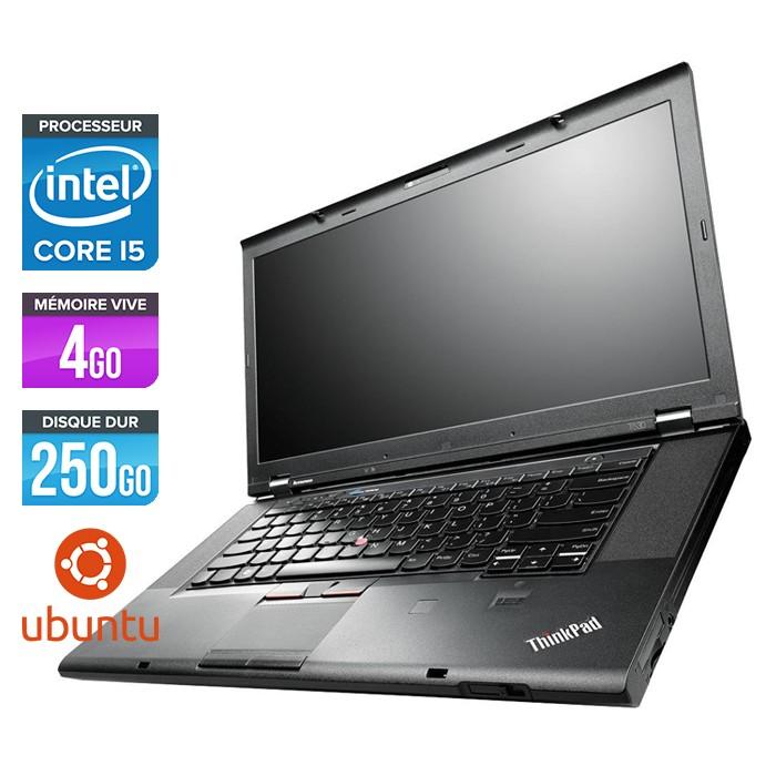 Lenovo ThinkPad T530 - Core i5-3320M - 4Go - 250Go - Linux