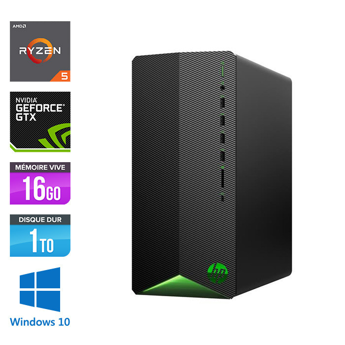 HP Pavilion Gaming Desktop TG01-0110NF - Windows 10