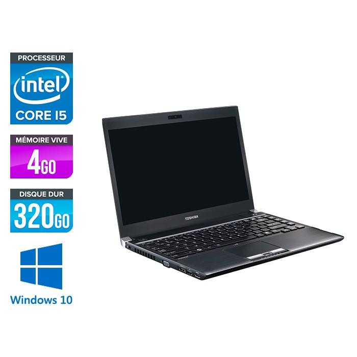 Toshiba Portégé R830 - i5 - 4Go - 320Go HDD - W10
