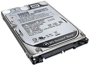 "Western Digital Scorpio Black WD3200BEKT - 2.5"" - 320 Go - SATA II 3Gb/s"