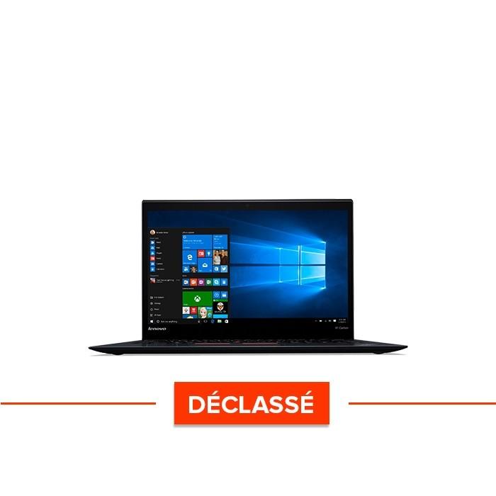 Lenovo X1 Carbon - i7 - 8Go - 256Go SSD - QHD - W10 - déclassé