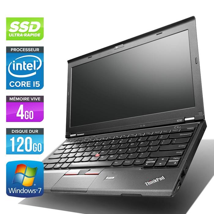 Lenovo ThinkPad X230 - Core i5-3320M - 4Go - 120Go SSD