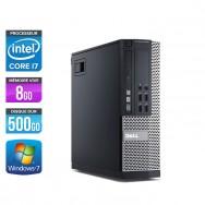 Dell Optiplex 9010 SFF - Core i7 - 8Go - 500Go - W7