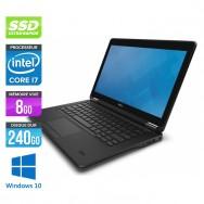 Dell Latitude E7250 - Core i7 - 8Go - 240Go SSD - Windows 10
