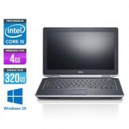 Dell Latitude E6330 - Core i5-3320M - 4Go - 320 Go HDD- windows 10