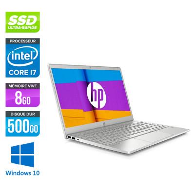 HP Pavilion Laptop 13-an1019nf - i7 - 8Go - 512Go SSD - Windows 10