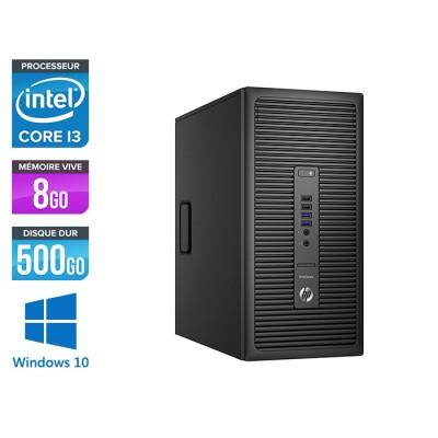 HP ProDesk 600 G2 Tour - i3-6100 - 8Go DDR4 - 500Go - Windows 10