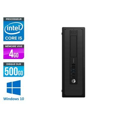 HP ProDesk 600 G2 SFF - i5-6500 - 4Go DDR4 - 500Go HDD - Windows 10