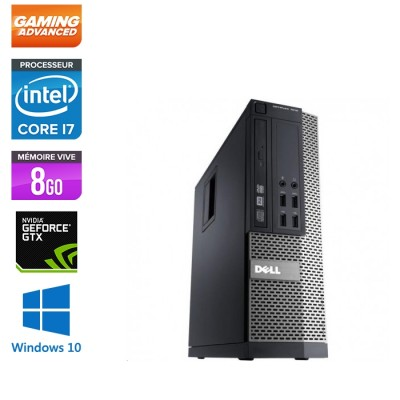 Dell Optiplex 7010 SFF - intel core i7 - 8Go - 500Go HDD - GTX 1050 - Windows 10