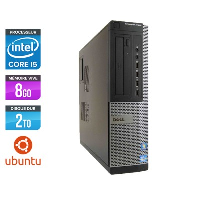Dell Optiplex 7010 Desktop - Core i5 - 8 Go - HDD 2 To - Linux