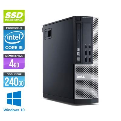 Dell Optiplex 7010 SFF - Core i5 - 4Go - 240Go SSD - Windows 10