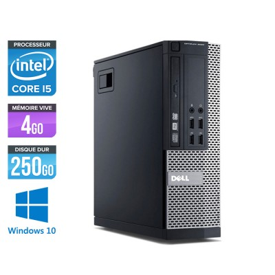 Dell Optiplex 7010 SFF - Core i5 - 4Go - 250Go - Windows 10